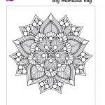 stay at home activities: mandala coloring