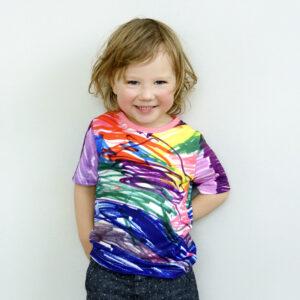 rainbow tshirt